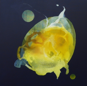 Metamorfosis I. Acrílico tela. 70x70 cm. 2012.