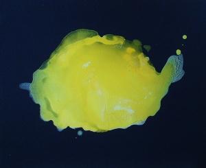 Un mar de silencio.Acrílico tela. 38x46 cm. 2004.