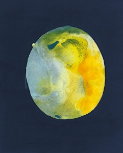 Mundo latente, 2018 Acrílico sobre tela, 41 x 33 cm