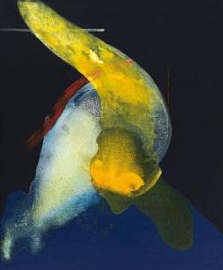 Vida insensible, 2017 Acrílico sobre tela, 46 x 38 cm